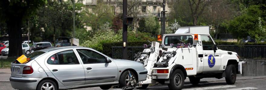 Enlèvement de véhicule en fourrière à Pari